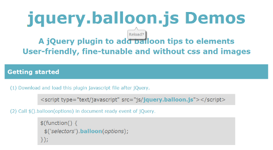 jquery.balloon.js demo page